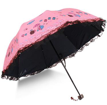 红旺阿波罗卡通图案公主超强防紫外晴雨伞
