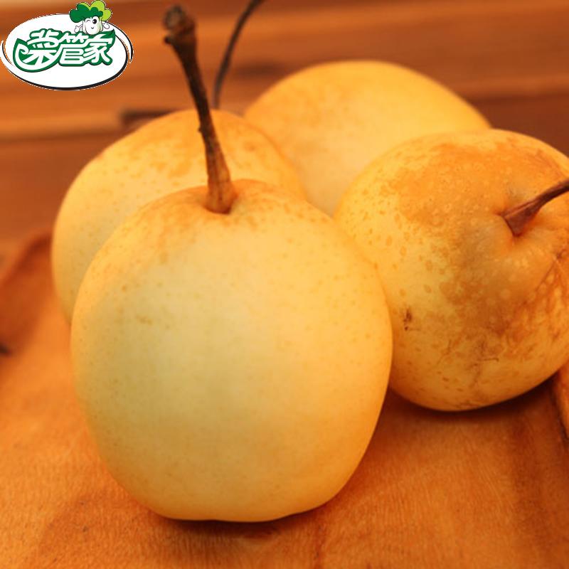 【光明集团菜管家】山东 水晶梨 新鲜梨 850g 新鲜水果 梨子