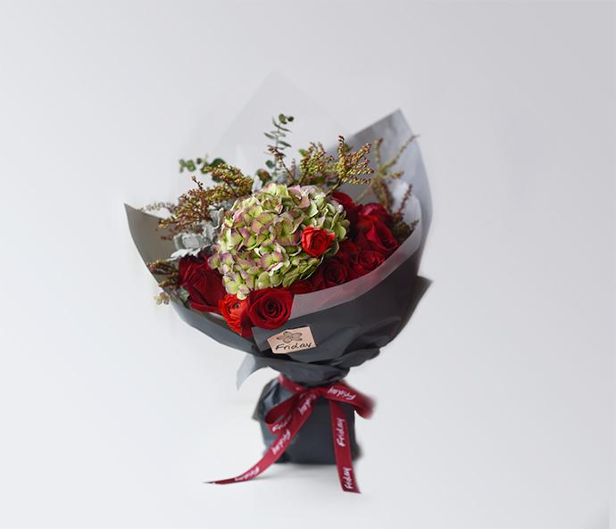 复古约会 鲜花花束